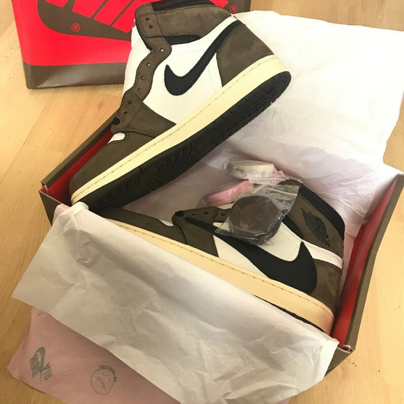 promo code 15a15 71080 Nike Air Jordan 1 x Travis Scott Cactus Jack Boutique